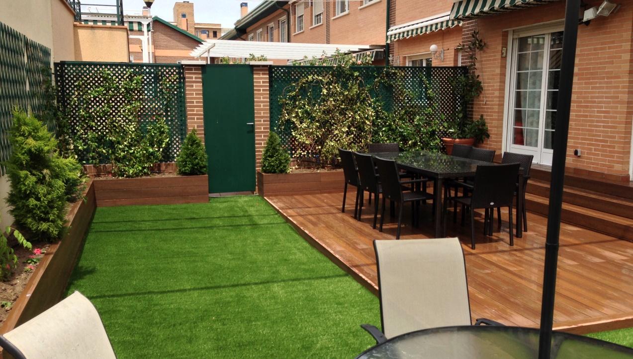Revestimiento en exteriores alternativas funcionales for Patios y jardines de casas