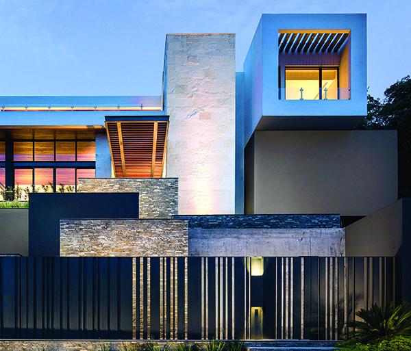 Materiales fachadas affordable fachada combinacion - Materiales para fachadas exteriores ...