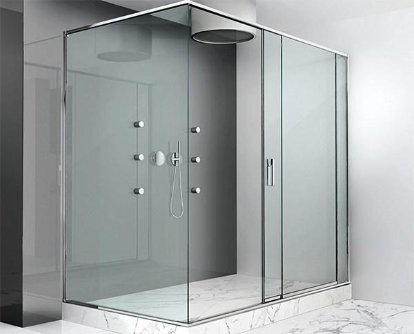 Los herrajes para el vidrio templado mejores acabados for Herrajes puertas cristal