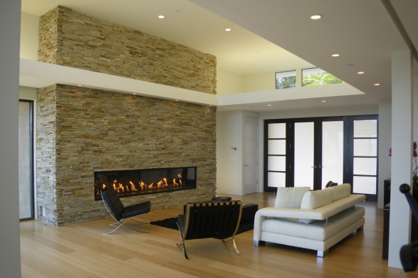 Stone-wall-fireplace-living-room-modern-with-modern-fireplace-shoji-screen-7