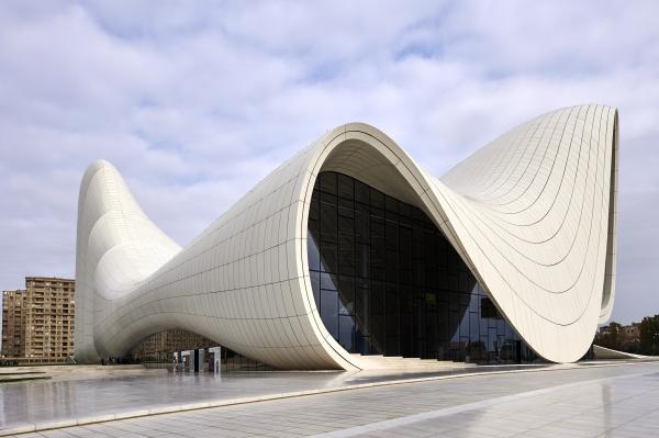 Foto: Centro Heydar Aliyev, Bakú