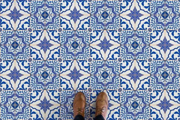azul azulejo zapatos