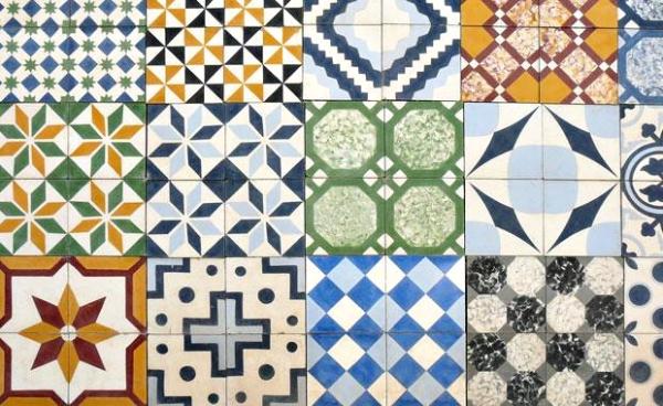 mosaico fractal