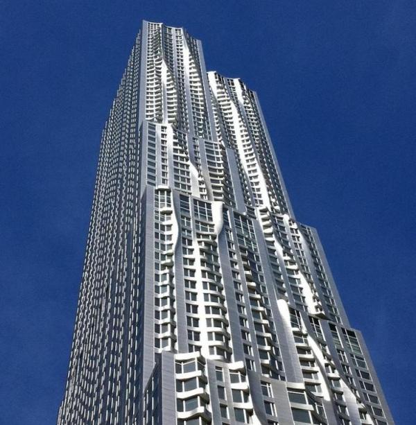 Nueva York por Gehry