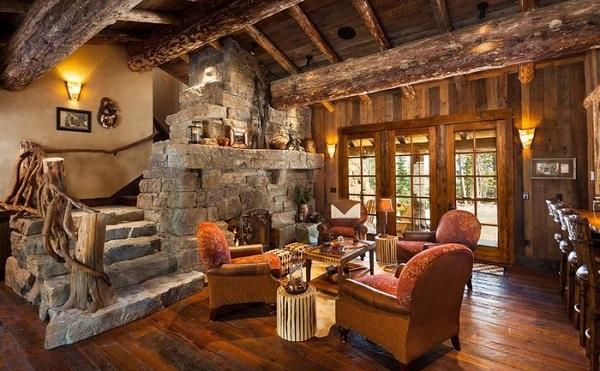 piedra-y-madera-decoracion-rustica